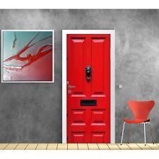 Carta dipinto porta Rosso 871