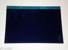 Microfich Ersatzteilkatalog Vespa Puch Mofa 2 - Gang Stand 05/1990