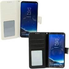 Custodia booklet cover pelle porta schede per Samsung Galaxy S8+ S8 Plus G955F