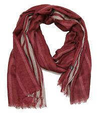 Écharpes et châles à motif foulards rouges Rayé pour femme   Idées ... 5dc0865fe61