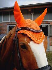 HANDMADE HORSE EAR NET BONNET/FLY VEIL/MASK/HOOD BREATHABLE COTTON FULL COB PONY