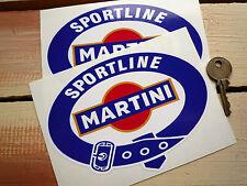 MARTINI International Club 150mm Club racing stickers