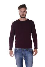 Maglione Daniele Alessandrini Sweater -50% Sfuma Uomo Bordeaux FM91373606-14