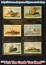 ☆ Amalg. Tob (Mills) Famous British Ships 2nd 1952  (G) *Please Select*