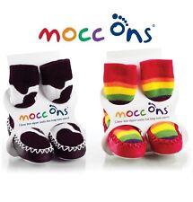 Mocc ONS Pantufla Calcetines del Bebé del Niño Mocasín Zapatos 6-12, 12-18, 18-24 M