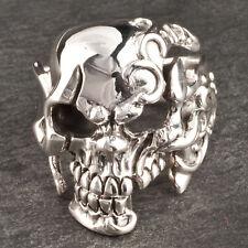 Bague Skull Tete de mort squelette ARGENT neuf T 70 BijouterieJOLYBIJOUX