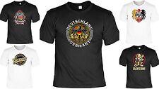 Cooles Deutschland T-Shirt - Top Shirt Patrioten - Deutschland / Bayern Motiv