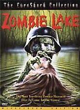 Zombie Lake (DVD, 2001) HOWARD VERNON, NADINE PASCALE, PIERRE ESCOURROU