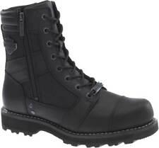 Harley-Davidson Men's Boxbury 7-Inch Black Composite Toe Motorcycle Boots D93496