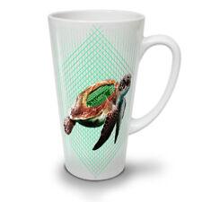 Tartaruga MARINA progammer NUOVO White Tea Tazza Da Caffè Latte Macchiato 12 17 OZ | wellcoda