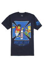 NEW The Simpsons Skate Boarding FEA Merchandising Bart Simpson T-Shirt