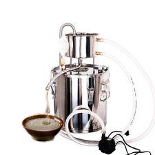 12 L Destillieranlage Schnapsbrennen Destille Alkohol Ätherischer Wasser