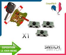 1X Bouton Switch Télécommande clé Plip Peugeot Citroen