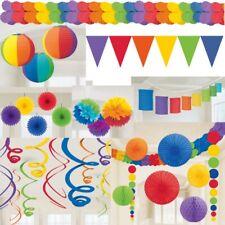 fête Multicolore Décoration au jardin anniversaire d'enfant carnaval