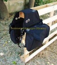 Bisacce posteriore per sella con sacche imbottite