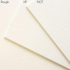 Arcate di ottima qualità pesante 640gsm 300lb Acquerello su carta. 2 FOGLI, 30 x 22 pollici