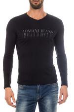 T-shirt Armani Jeans AJ T-Shirt Sweatshirt % Uomo Nero 6X6T266JPRZ-1200