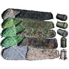 Großer und Kuschliger Camping Outdoor Mumien Schlafsack 230x80cm Zelten Wandern