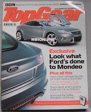 Top Gear 10/2005 featuring Ford, Aston Martin V8 Vantage, Pagani Zonda,Honda NSX