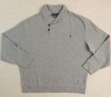$145 Polo Ralph Lauren Pony Estate Rib Shawl Sweatshirt Sweater Shirt Big Tall