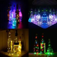 Waterproof Wine Bottle LED Light Wire String light bulb Cork Party Decor RD494