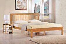 LAVISH NEW WINDSOR WOODEN BED FRAME IN WHITE & OAK FINISH ***FREE DELIVERY***