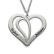 Collana con nome scritta Argento 925 rodiato anallergico gioielli donna ragazza