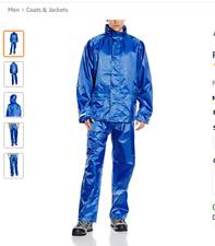rain  Men's glanz silky wet look shiny nylon lads track Suit pants jacket   new