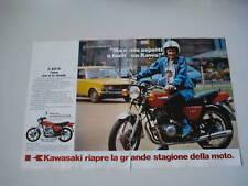 advertising Pubblicità 1980 MOTO KAWASAKI Z 400 B