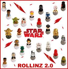 ROLLINZ 2.0 Star Wars Esselunga Completa la Collezione Oro Dorato Fluorescente