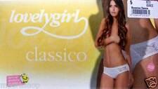SLIP BOXERINO LOVELY GIRL EMY CLASSICO CONF 6 PZ BIANCO NERO TG DA 3 A 6 -8222