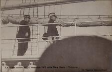 """#NAVE REALE """"TRINACRIA"""" -RIVISTA MILITARE DELL'11 NOV. 1912-E. Ragozino- NA"""