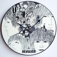 "Revolver - The Beatles - 12"" LP Vinyl Record Clocks, Lennon, McCartney, Canvas"