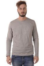 T-shirt Maglietta Versace Jeans T-Shirt Sweatshirt % Uomo Grigio B3GQA722-837