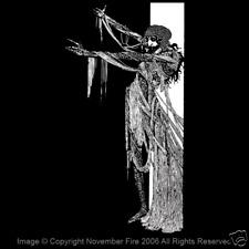 Art Nouveau Vampire Nosferatu True Blood Dracula Gothic Goth Death Shirt NFT260