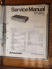 Service Manual für Technics ST-2800L Tuner,ORIGINAL