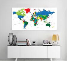 3D World Map 91 Wall Stickers Vinyl Murals Wall Print Decal Deco Art AJ STORE AU