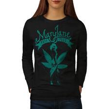 Mary Jane Puff Pass Women Long Sleeve T-shirt NEW | Wellcoda