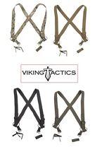 Viking Tactics Vtac Brokos Battle Belt Duty Suspenders - See Menu for Colors