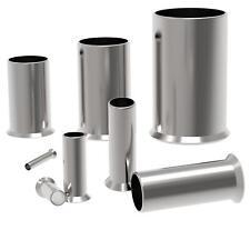10 - 1000 Stück unisolierte Aderendhülsen mit Querschnitt von 0,5 mm² - 50 mm²