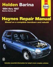 NEW HAYNES REPAIR MANUAL: HOLDEN BARINA SB 1994-1997
