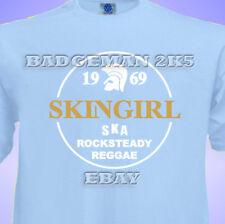 SKINGIRL Spirit Of 1969 Unisex T-Shirt Skinhead SKA Reggae ROCK STEADY TROJAN
