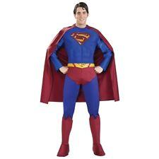 Superman Costume Adult Superhero Halloween Fancy Dress