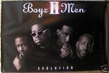 "BOYZ II MEN ""Evolution"" 24""x36"" RARE PROMO POSTER ©1997 * Boys 2 Men *"