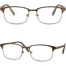 Light Men Women Titanium Frame Prescription Glasses Sunglass UV Protection Brown