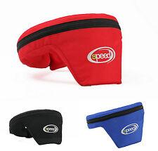 Speed Nackenschutz Spezial - Unverzichtbar für den Kartsport - Schwarz/blau/rot