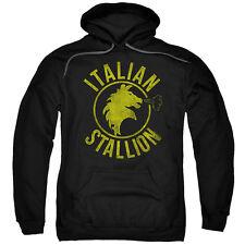 Rocky Italian Stallion Horse Mens Pullover Hoodie Black