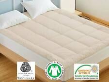 100% Natural Wool Mattress Topper | Lambswool Mattress Pad