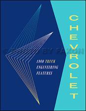 1960 Chevy El Camino and Sedan Delivery Engineering Features Manual