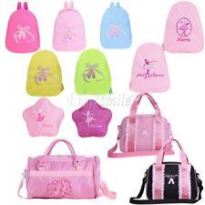 Kids Girls School Bags Backpack Shoulder Bookbags Fashion Toe Shoes Ballet Dance